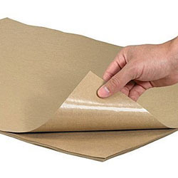 Coated, laminated papers